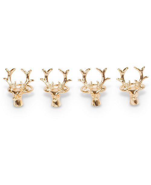 8 Oak Lane Napkin Ring - Set of 4
