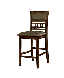 Vandusen II Counter Height Leatherette Dining Chair
