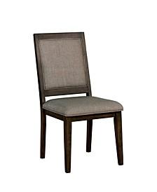 Perdon Transitional Rectangular Dining Chair (Set of 2)