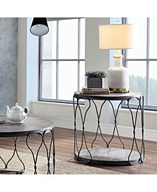 Haverford Wire-Twisted End Table