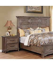 Finsell Moulded Trim Nightstand