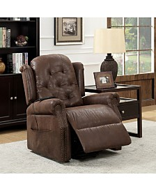 Keating Transitional Tufted Power Recliner