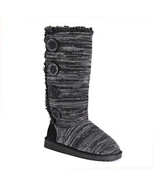 Muk Luk Liza Tall Button Boot