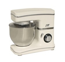 SPT 8-Speed Stand Mixer White