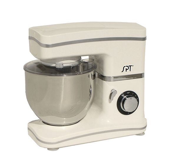 SPT Appliance Inc. SPT 8-Speed Stand Mixer White