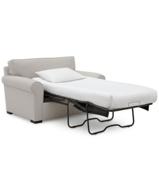 "Astra 59"" Fabric Chair Bed, Created for Macy's"
