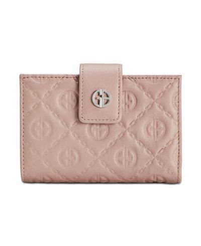 Giani Bernini Logo Embossed Index Wallet, Created for Macy's