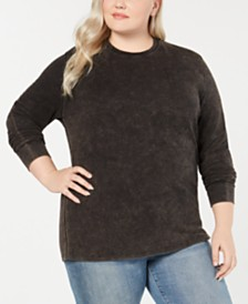 Love Tribe Trendy Plus Size Thermal T-Shirt