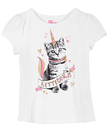 Epic Threads Little Girls Kitty Unicorn T-Shirt, Created for Macy's