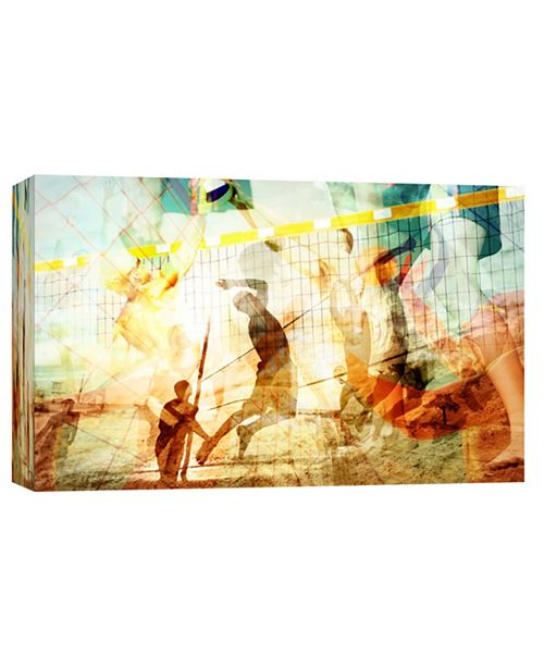 PTM Images Volleyball 1 Decorative Canvas Wall Art