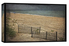 Ptm Images,Beach At Dusk  Decorative Canvas Wall Art