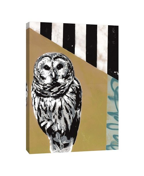 PTM Images Owl Ii Decorative Canvas Wall Art