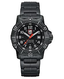 Luminox Men's Anu Black Stainless Bracelet Watch