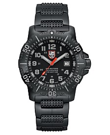 Luminox Men's 4222 Anu Black Stainless Bracelet Watch