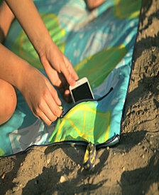 BeachTech HP Beach Towel With Pocket - Keep Calm