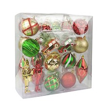 36 Pieces Mix Christmas Ornament