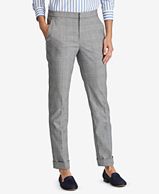 Lauren Ralph Lauren Glen Plaid Stretch Pants