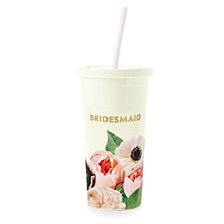 Kate Spade New York Tumbler With Straw, Miss To Mrs.