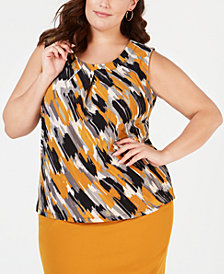 Kasper Yellow Blouse Find A Yellow Blouse At Macy S Macy S