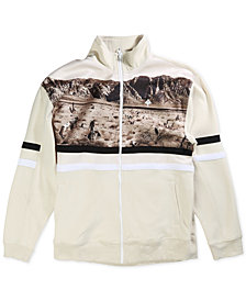 LRG Men's Desert Track Jacket