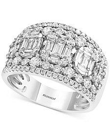 EFFY® Diamond Cluster Statement Ring (1-3/4 ct. t.w.) in 14k White Gold