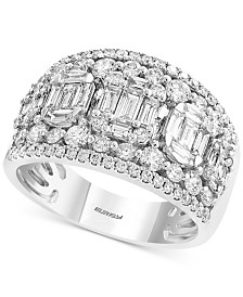 EFFY® Diamond Cluster Statement Ring (1-3/4 ct. t.w.) in 14k White Gold