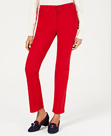 Charter Club Petite Lexington Straight-Leg Jeans, Created for Macy's