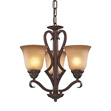 D Lawrenceville Collection 3-Light Chandelier