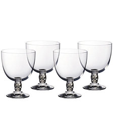 Villeroy & Boch Montauk Sand White Wine, Set of 4