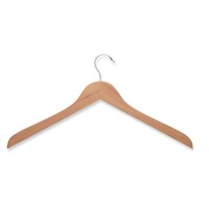Honey Can Do 10-Pc. Wooden Shirt Hangers