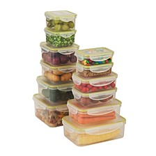 Locking 24-Pc. Food Storage Set
