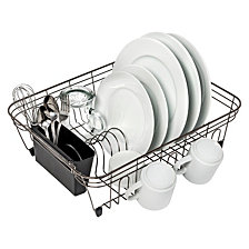 Honey Can Do Dish Rack, Black