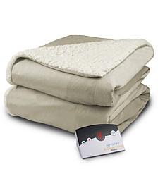 Electric Micro Mink/Sherpa Blankets