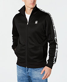 G-Star RAW Mens Logo-Taped Track Jacket, Created for Macy's