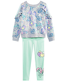 My Little Pony Little Girls Ruffle Top & Leggings Set
