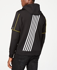 I.N.C. Men's Piped Zip-Front Hoodie, Created for Macy's