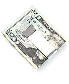 Kenneth Cole Reaction Money Clip, Double Your Money Stainless Steel
