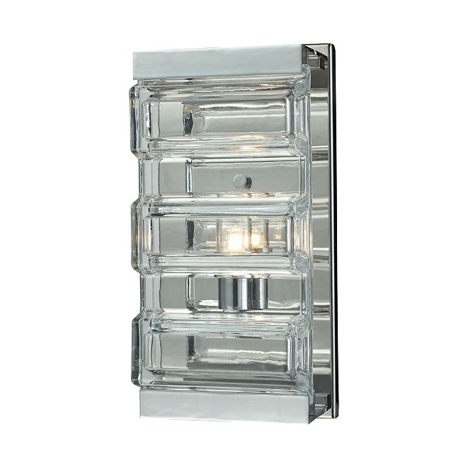 ELK Lighting Corrugated Glas
