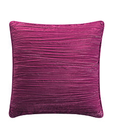 Tracy Porter Crinkle Velvet 20x20 Decorative Pillow