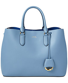 Lauren Ralph Lauren Dryden Marcy Leather Tote