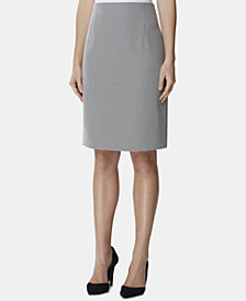 Tahari ASL High Waist Back Zip Skirt