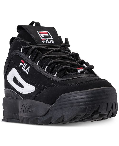 Fila Boys  Disruptor II Casual Athletic Sneakers from Finish Line ... ec8380886