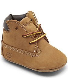 Timberland Baby Boys' Crib Booties and Cap Set from Finish Line
