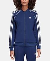 78978016332f7 adidas Originals adicolor Superstar Three-Stripe Track Jacket