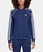 separation shoes 19ffd bab57 adidas Originals adicolor Superstar Three-Stripe Track Jacket