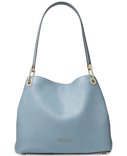 d04acb53b43fd Michael Kors Raven Pebble Leather Tote   Reviews - Handbags ...