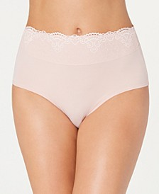 Women's Passion For Comfort Lace-Waist Brief Underwear DFPC61