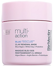 Multi-Action Blue Rescue Clay Renewal Mask, 3.2 oz.