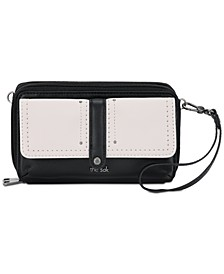 Sequoia Smartphone Leather Crossbody Wallet