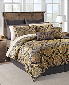 Carrington 20-Pc. Gold Queen Comforter Set